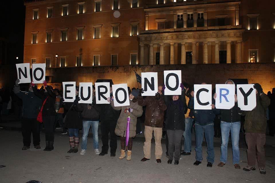 No Euro no cry