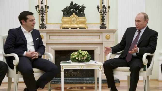 Alexis Tsipras, Vladimir Putin