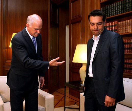 papandreou tsipras