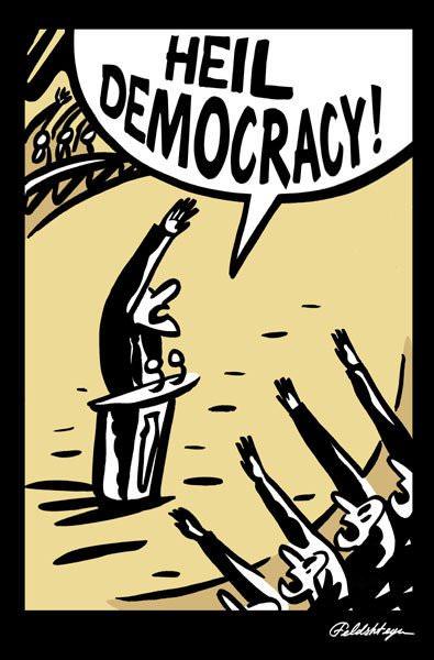 heil democracy