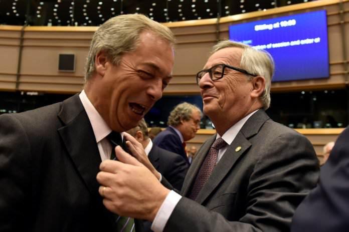 Juncker Farage