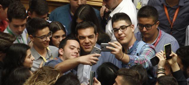 tsipras selfie